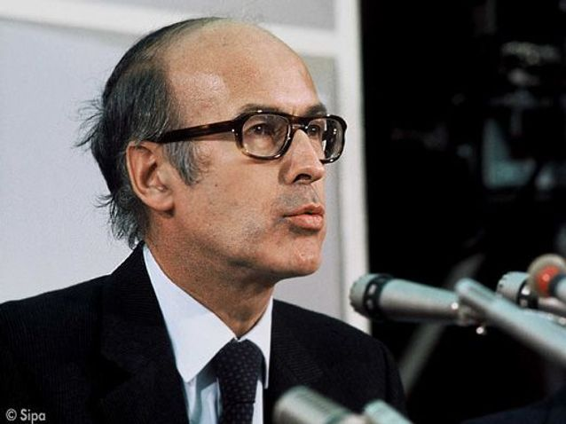 Valery Giscard D'estaing 1975