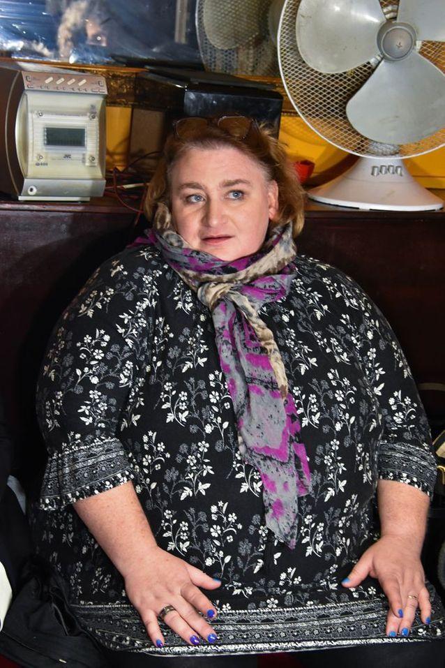 Sandrine Bouchait, présidente de L'Union Nationale des Familles de Féminicide, et sœur de Ghylaine, 34 ans, assassinée par son compagnon en sept...