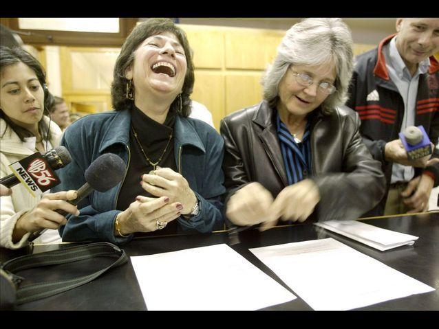 Marcia Kadish et Tanya Mc Closkey, dans le Massachusetts
