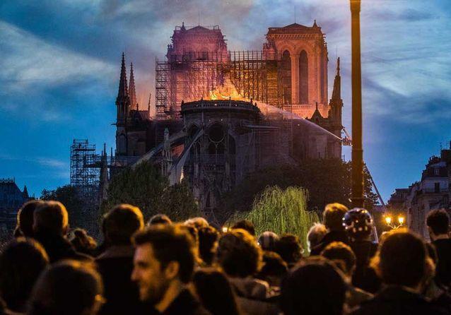 Notre-Dame de Paris ravagée : en images, l'émotion