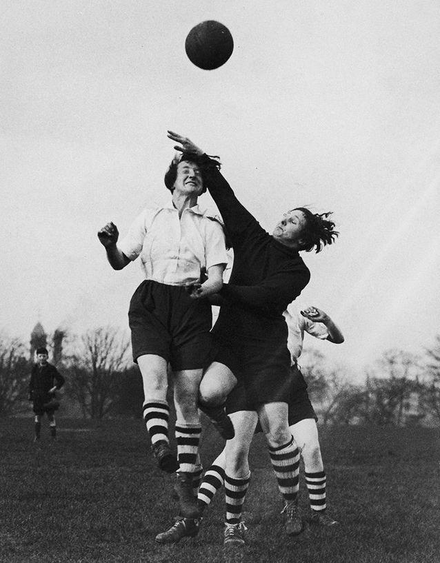 Entraînement du club de football féminin de Preston à Lancashire