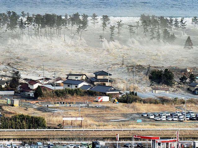 Societe actualite japon tsunami vague