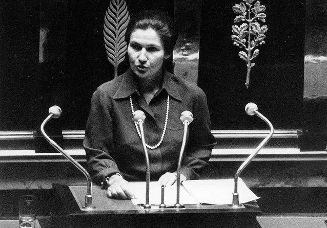 Simone Veil, 26 novembre 1974