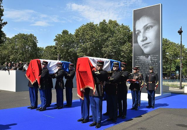 Simone Veil, une grande femme au Panthéon : les images de la cérémonie