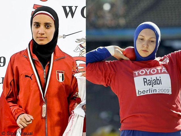Aya Medany et Leila Rajab