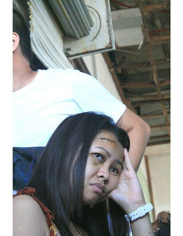 Yolanda, une rescapée