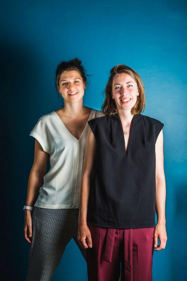 Camille Chardayre et Amandine Langlois