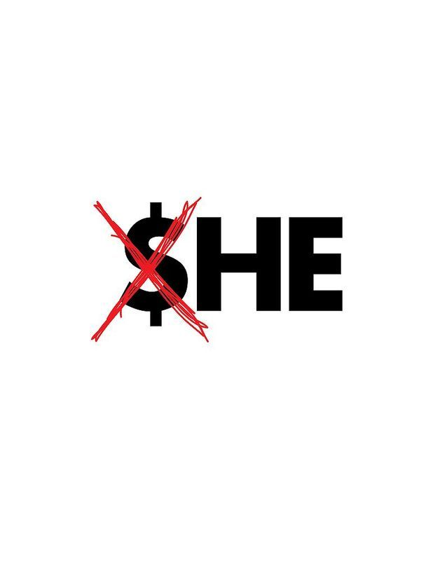 """She does not earn as he"""