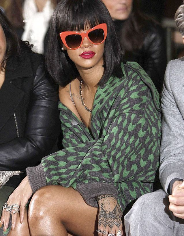 La semaine fashion de Rihanna