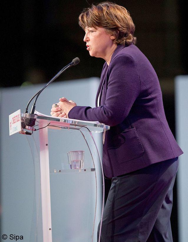 Martine Aubry au congrès de Toulouse