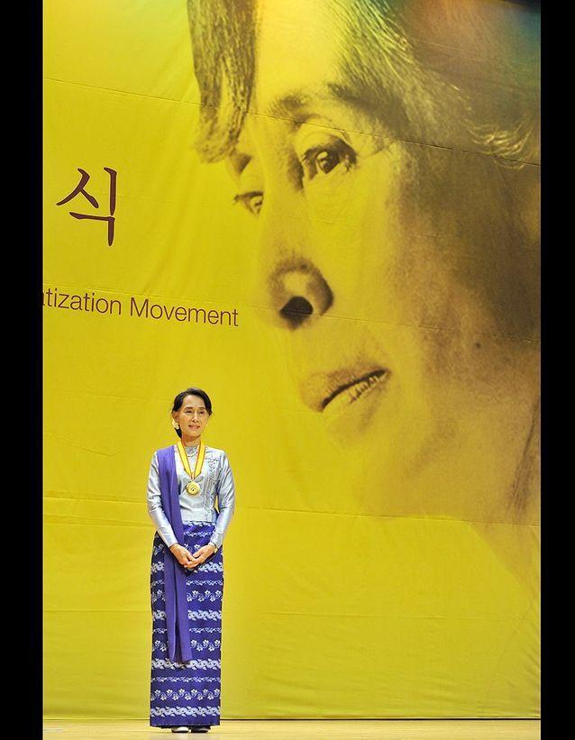 Aung San Suu Kyi appelle son parti à l'unité