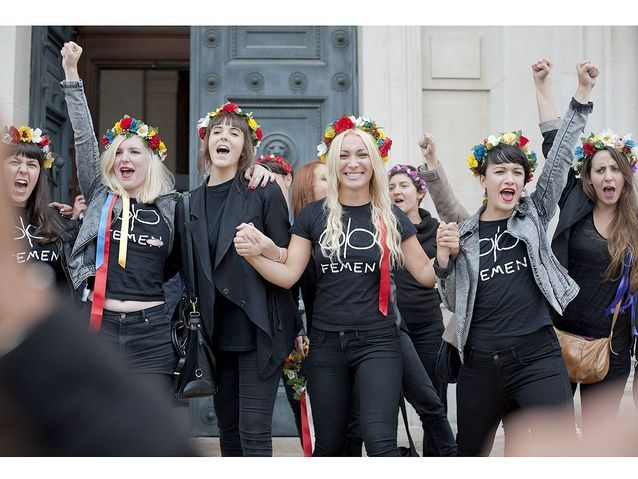 Les Femen soulagées