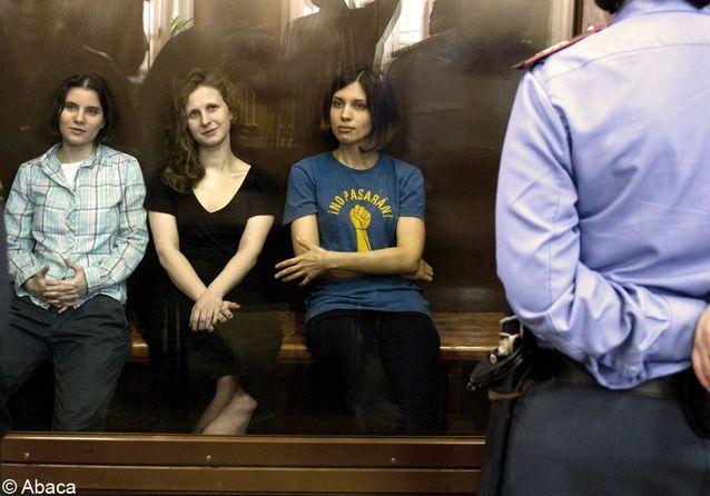 Les femmes de la semaine : les « Pussy Riot » condamnées au camp de travail
