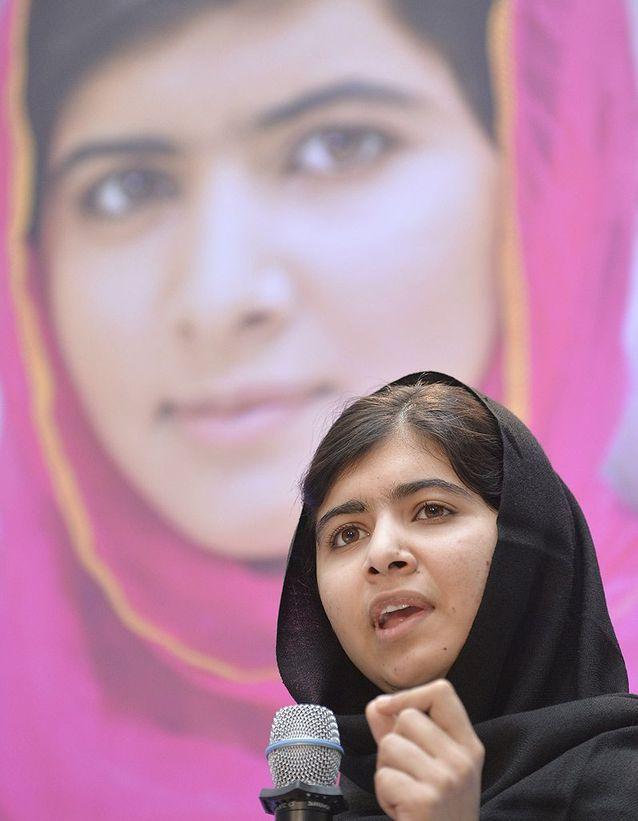 Malala, toujours combattante