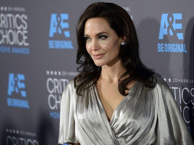 Angelina Jolie, en février 2015