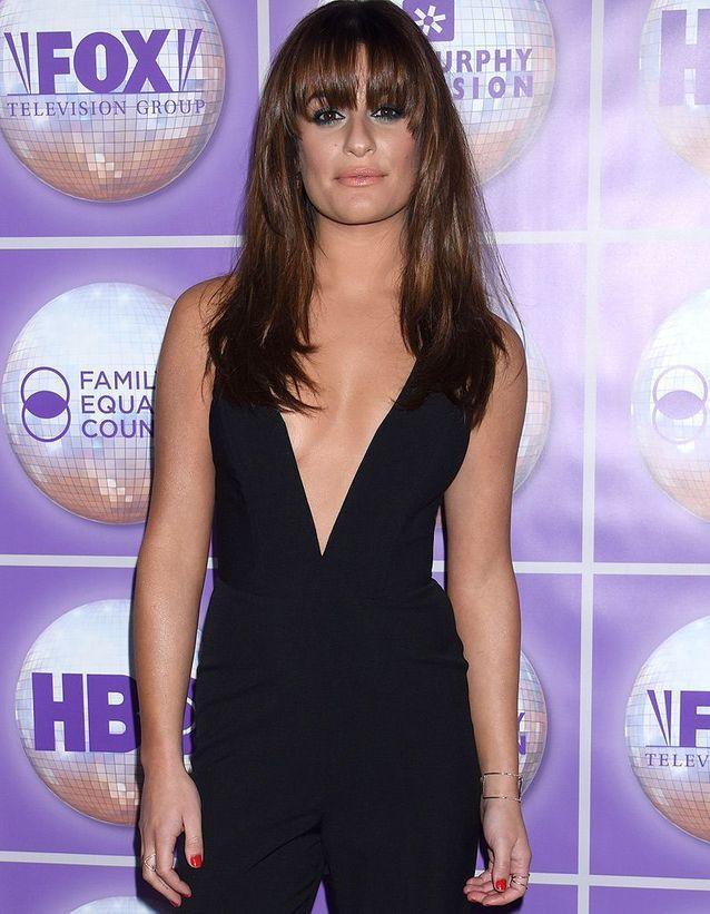 Lea Michele, en avril 2014