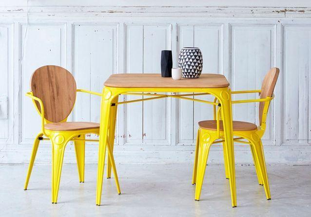 d couvrez les plus belles tables de cuisine du moment elle d coration rh elle fr table de cuisine design avec rallonge table de cuisine design cdiscount