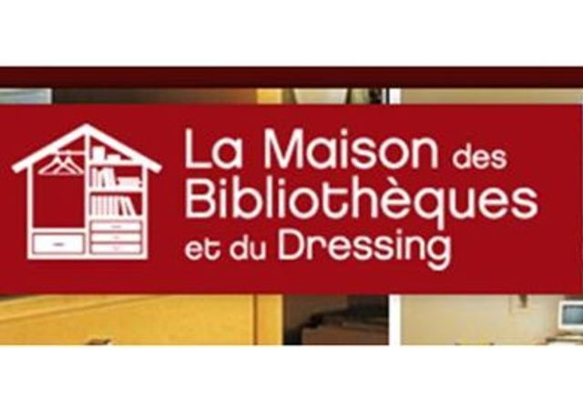 la maison des biblioth ques et du dressing elle d coration. Black Bedroom Furniture Sets. Home Design Ideas