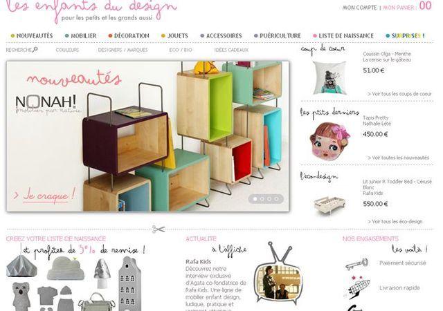 Les enfants du design.com - Elle Décoration