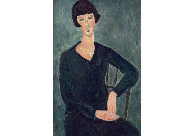 """Exposition """"Amédéo Modigliani, l'oeil intérieur"""" au LaM"""