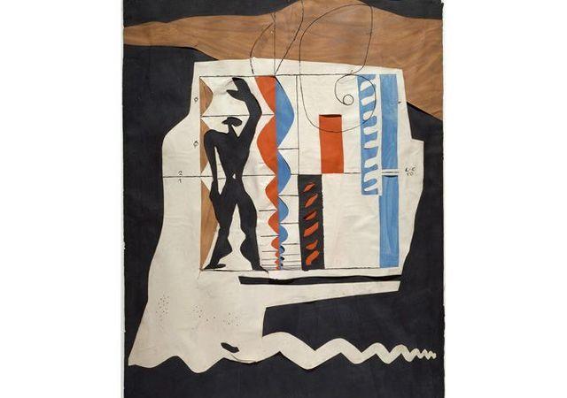 Exposition Le Corbusier, Mesures de l'Homme au Centre Pompidou