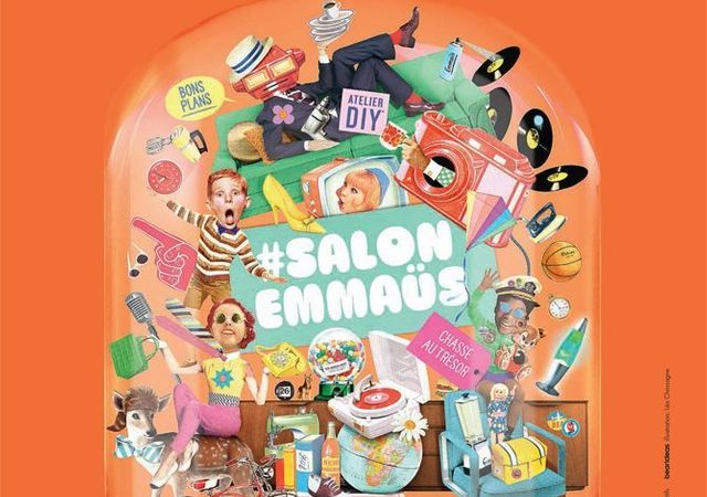 Salon emmaus 17 me salon emma s elle d coration for Salon porte de la villette