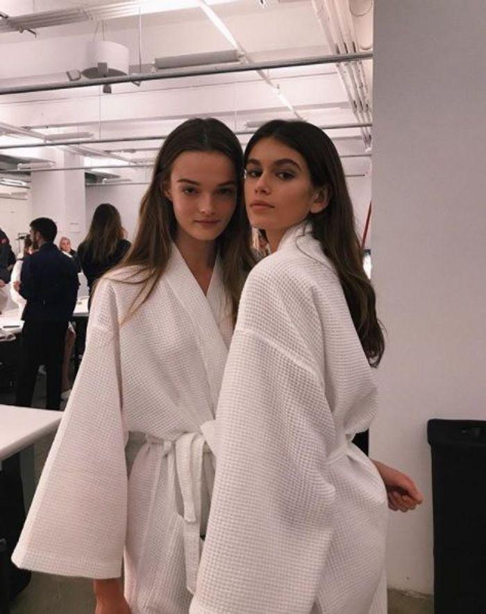 Au défilé Calvin Klein printemps-été 2018