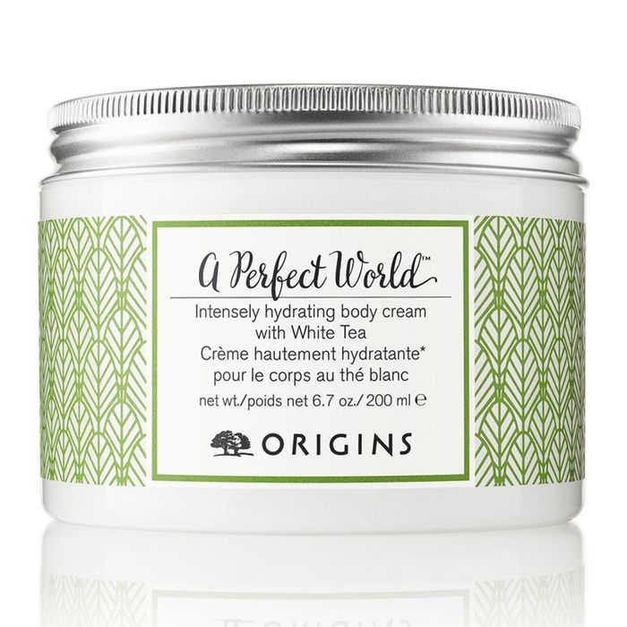 Crème pour le corps au thé blanc A Perfect World, Origins, 35,90€
