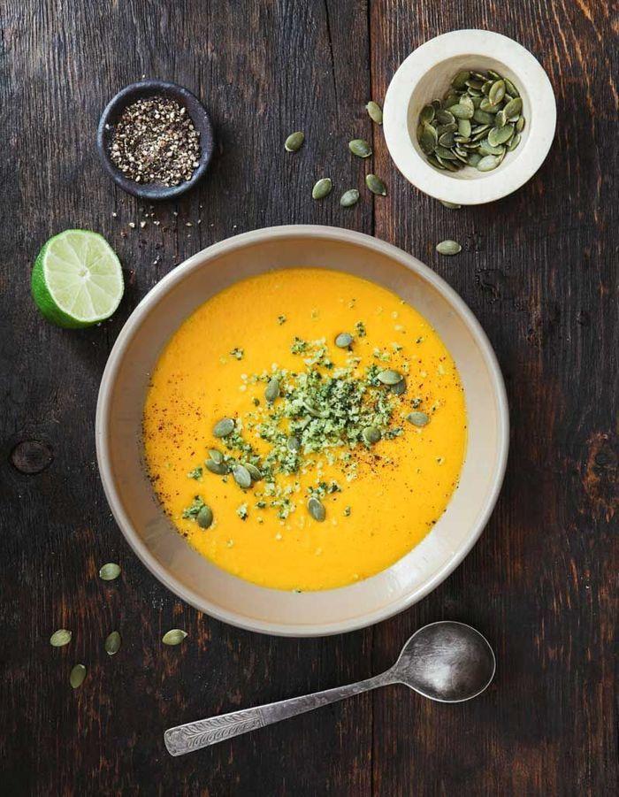 Une soupe de légumes vous dégusterez