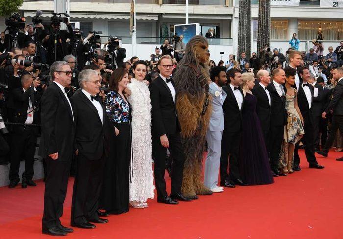 """L'équipe du film """"Solo : A Star Wars Story"""""""
