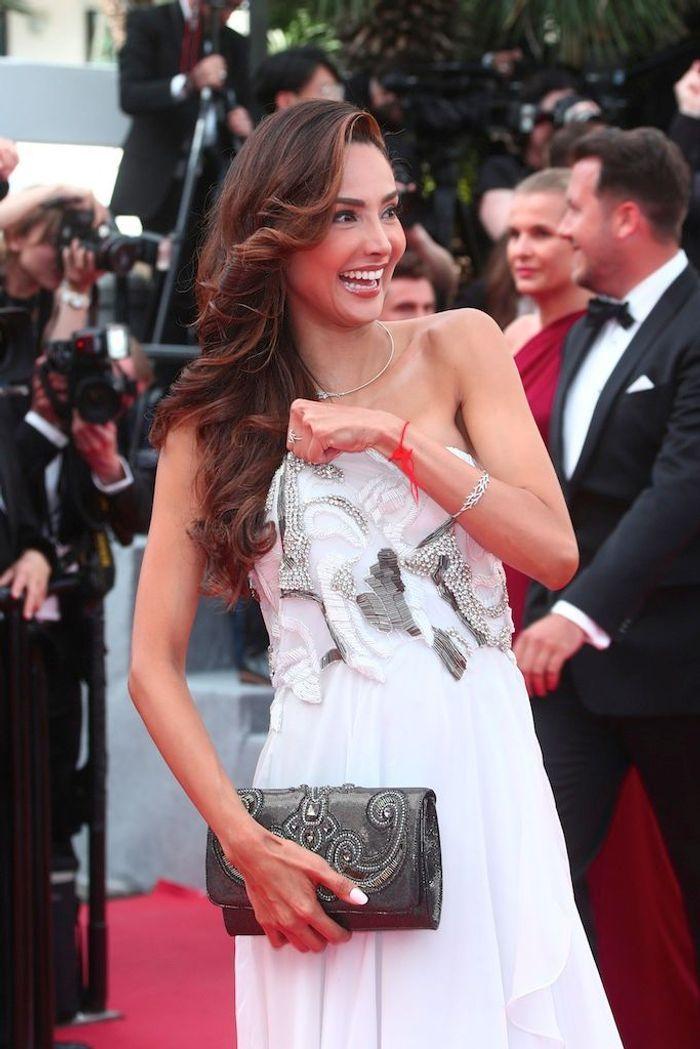 L'actrice Patricia Contreras en a dévoilé un peu trop sur le tapis rouge