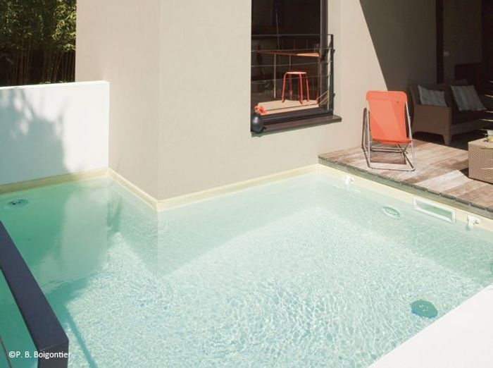 2. Petite piscine en L
