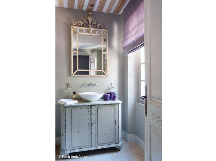 Visite maison cannes salle de bains