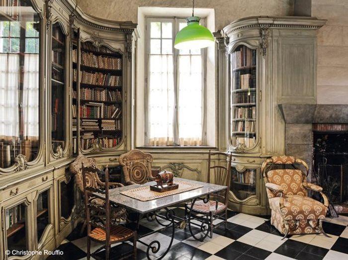 Bibliotheque moulin aragon