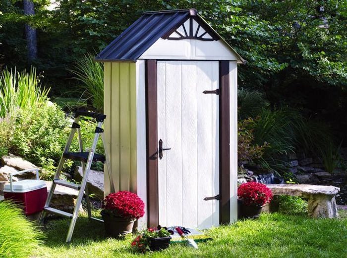 24 abris pour votre jardin abris de jardin elle d coration - Toile goudronnee pour abri de jardin ...