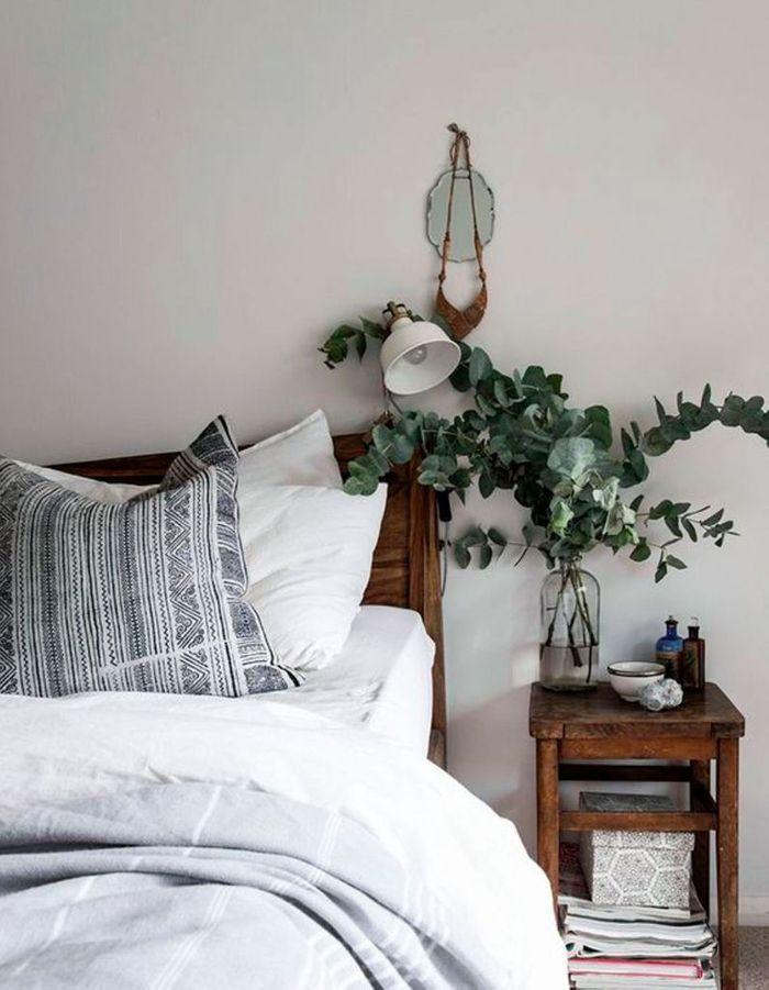 De l'eucalyptus séché en bouquet