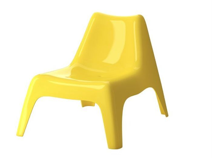 Chaise jardin jaune ikea ps