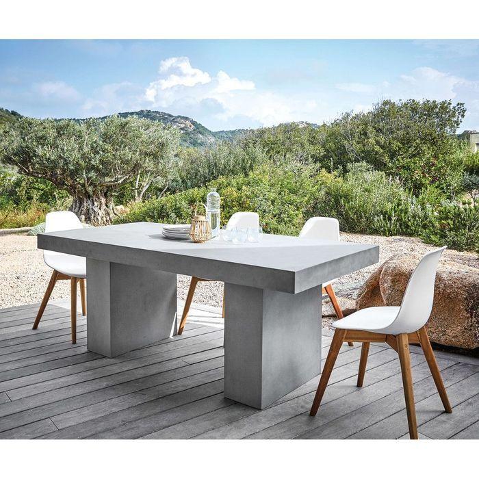 Table à manger de jardin Maisons du Monde