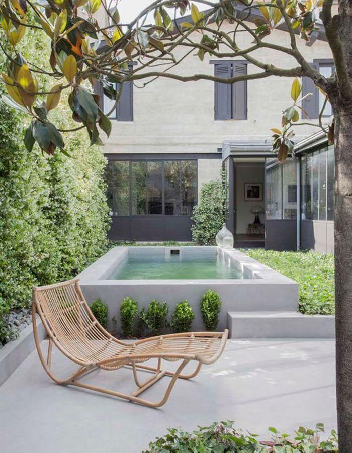 Les mini jardins vont adorer ces petites piscines elle for Piscine encastree