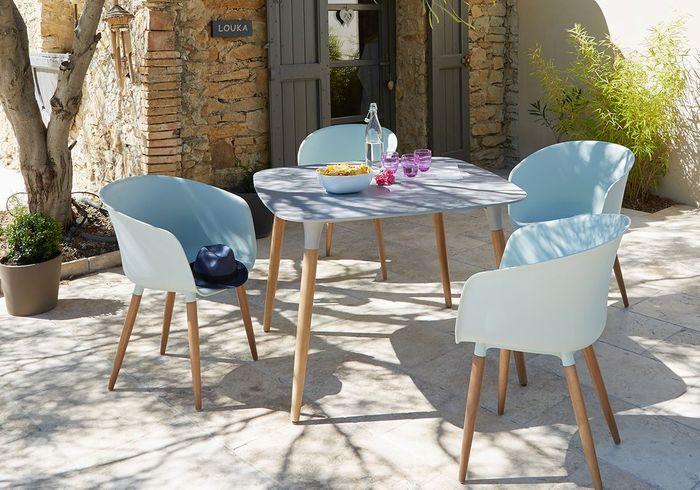 Craquez pour du mobilier outdoor pastel