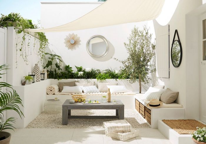 Décorez votre terrasse comme n'importe quelle autre pièce de la maison