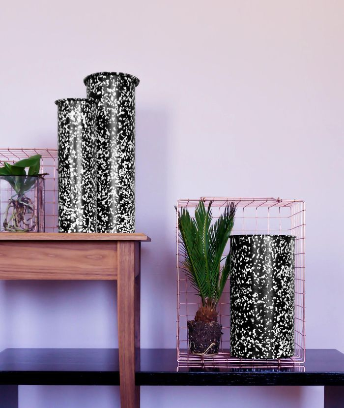 Set de Vases Cylindriques de Handmade Industrials