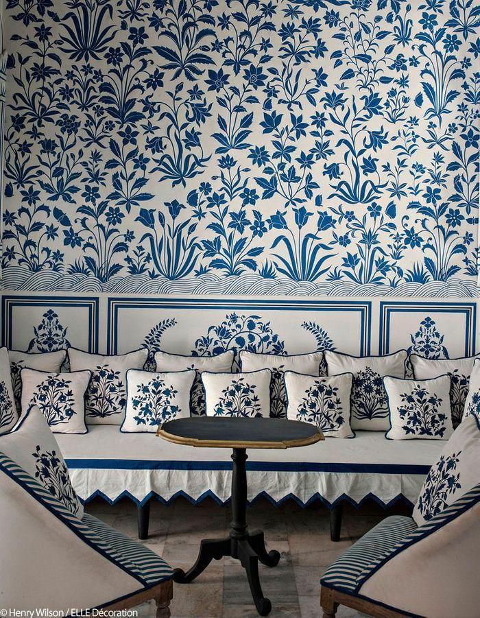 Salon de style maharadjah
