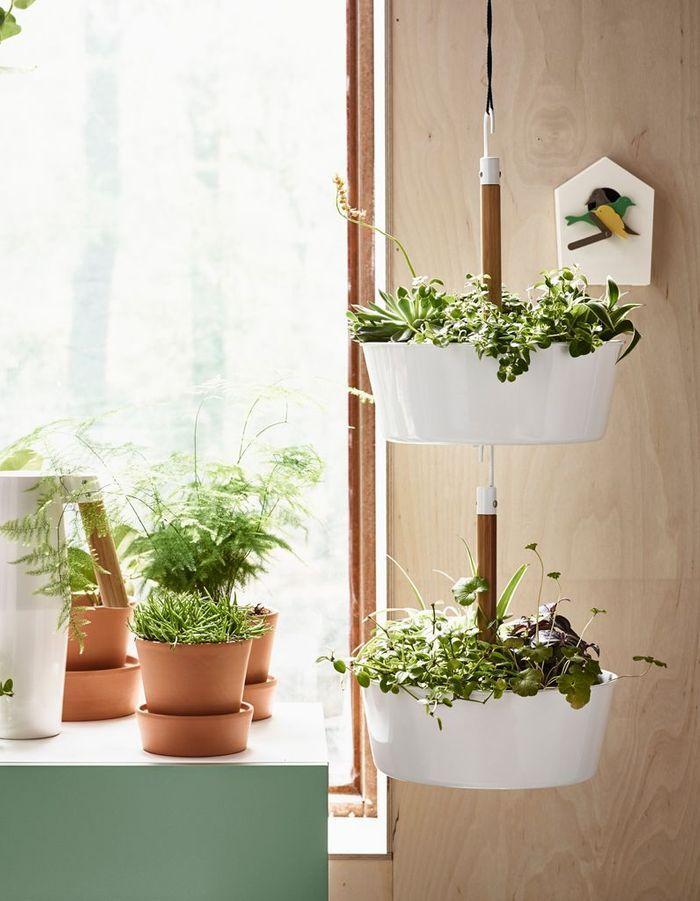 Jardinière suspendue Ikea