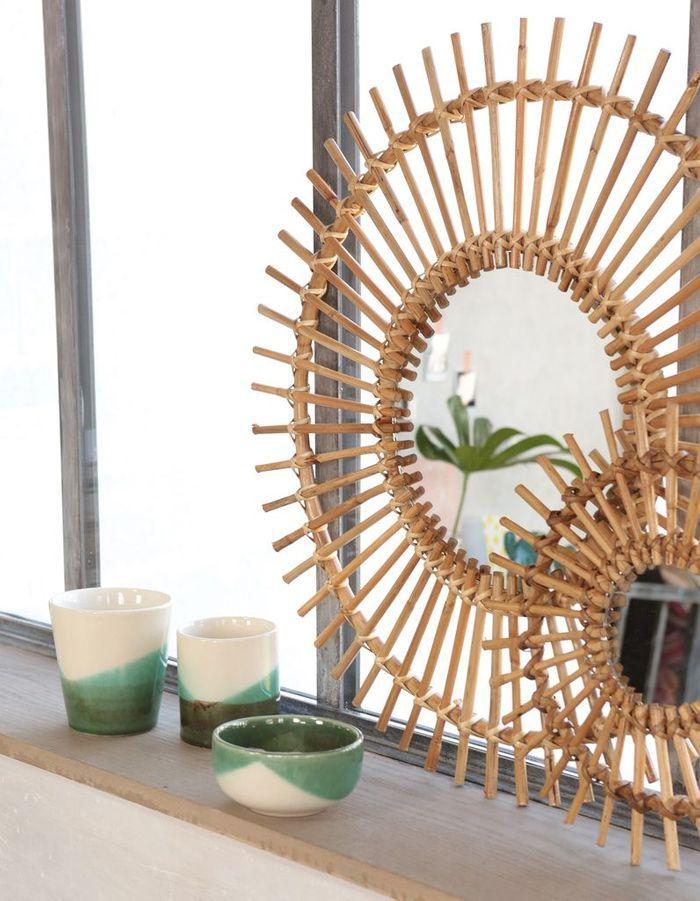 Miroir soleil Pimkie Home