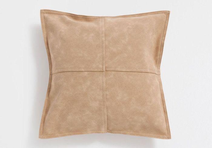 Housse de coussin effet cuir Zara Home