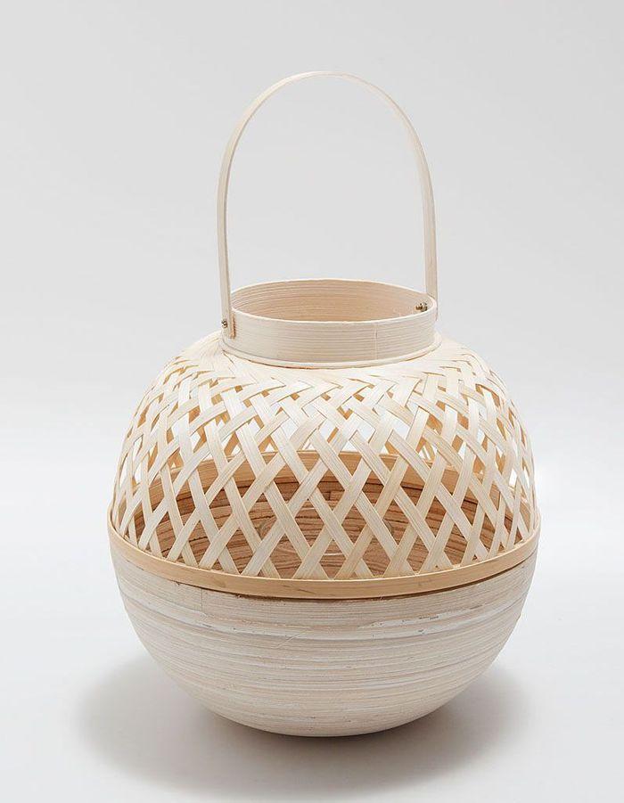Lanterne en bambou Zara Home