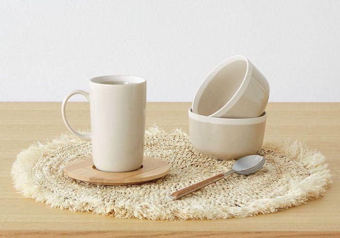Set de table en paille Zara Home