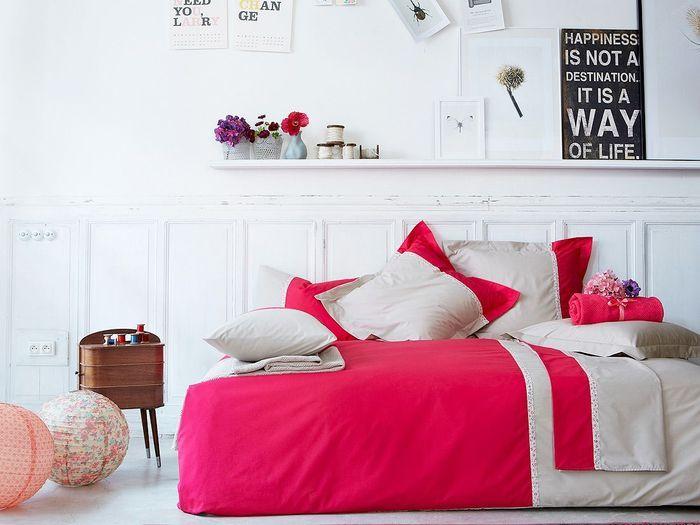 Parure de lit Toi et moi Laurette, Essix Home Collection