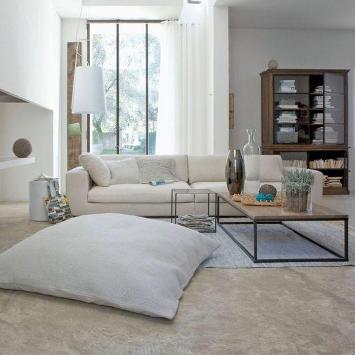 La tendance du coussin futon